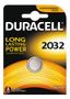 DURACELL Coin Battery, CR 2032, Lithium, 3V, 1-pack