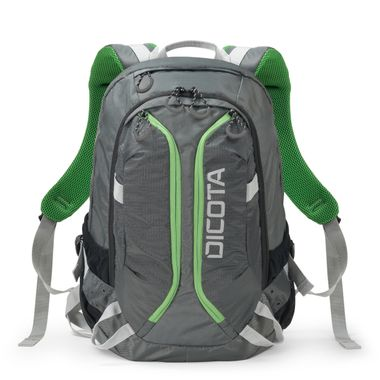 Backpack ACTIVE 14-15.6 grey/lime