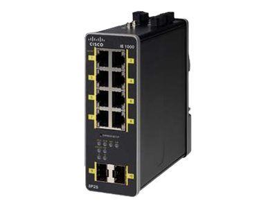 IE-1000 GUI based L2 PoE switch 2GE SFP