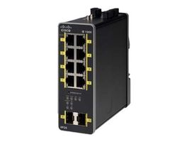 IE-1000 GUI based L2 PoE switch 2GE SFP