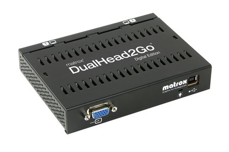 MATROX DUALHEAD2GO DIGITAL EDITION D2G-A2D-IF (D2G-A2D-IF)