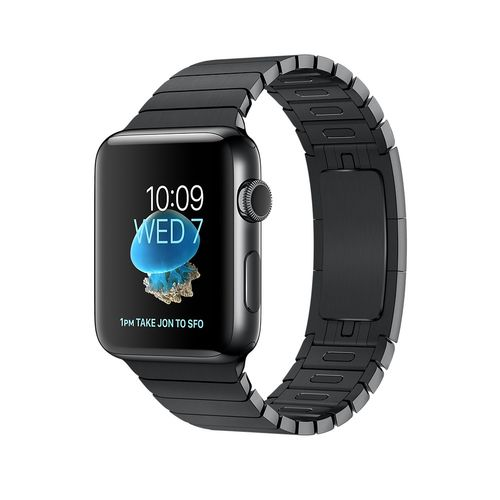 APPLE Watch Series 2 38mm Space Black S (MNPD2DH/A)
