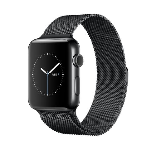 APPLE Watch Series 2 38mm Space Black S (MNPE2DH/A)