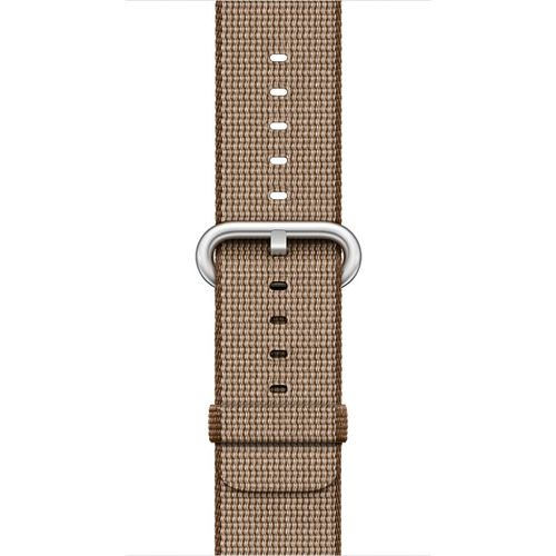 APPLE 42mm Toasted Coffee Caramel Woven Nylon (MNKE2ZM/A)