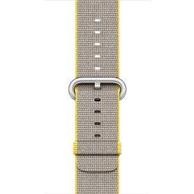 42mm Yellow Light Grey Woven Nylon
