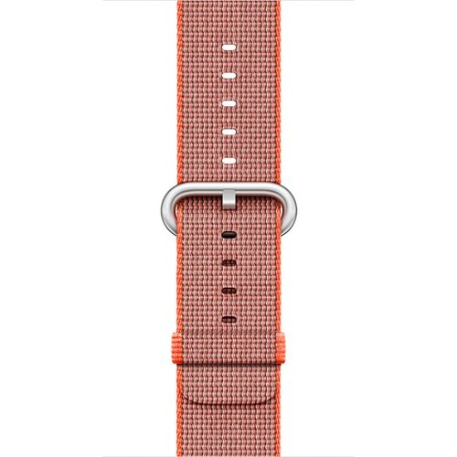 APPLE 38mm Orange Anthracite Woven Nylon (MNK52ZM/A)