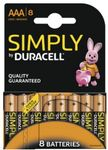 DURACELL Batterie Duracell SIMPLY -AAA (MN2400/ LR03)             8St.