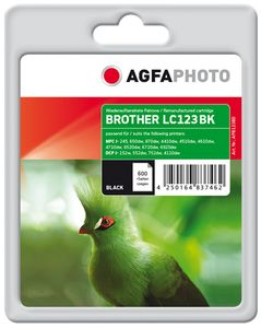AGFAPHOTO Ink Black rpl LC123BK, 16ml (APB123BD)