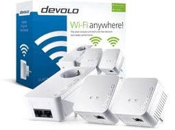 dLAN 550 WiFi Network Kit Powerline