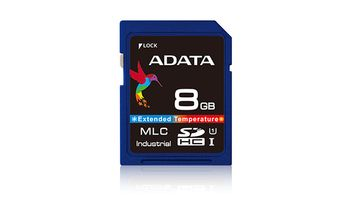 ADATA IDC3B MLC SD Card 8GB Normal Temp MLC 0-70C