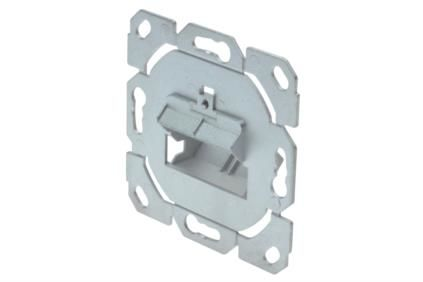 DIGITUS PROFESSIONAL FACE PLATE FOR KEYSTONE MODULES             IN ACCS