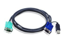 ATEN 3FT USB INTELLIGENT KVM CABLE (2L5201U)