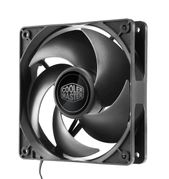 Cooler Master Silencio FP 120mm, 120 x 120 x 25mm, 1200 RPM, 38 CFM, 11 dBA, 3-pin