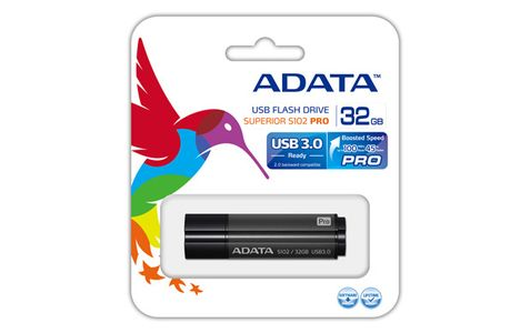 A-DATA 32GB USB Stick S102 Pro USB 3.0 gray (AS102P-32G-RGY)