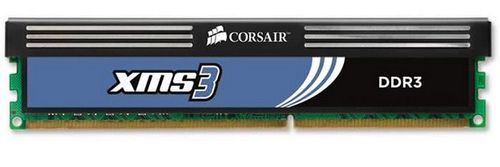 CORSAIR XMS3 DDR3 1333MHz 4GB CL9 XMS3, CL9-9-9-24,  for Phenom II and Core i3/i5/i7, 1.60v (CMX4GX3M1A1333C9)