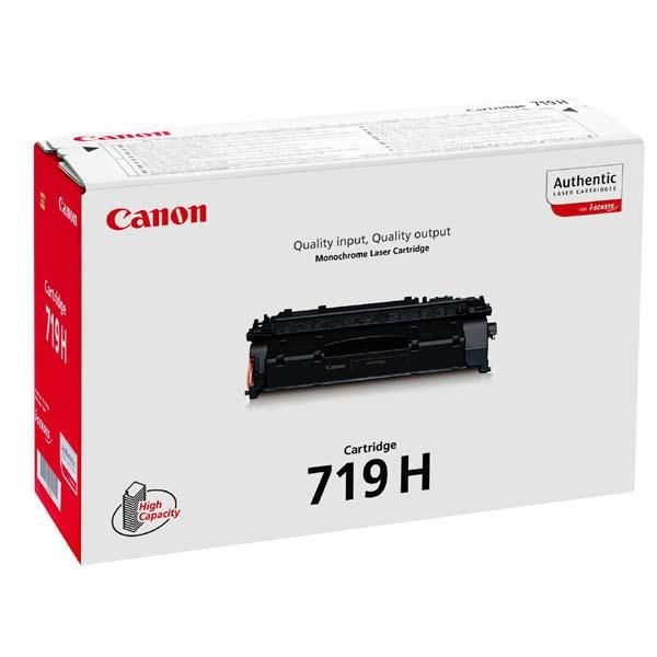 CANON 719 H - Toner cartridge - 1 x black - 6400 p (3480B002AA)