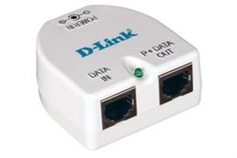 D-LINK 1-Port Gigabit PoE Injector - 2x 10/ 100/ 1000Mbit TP - Half-/ Full-Duplex - up to 19,2W Power Output