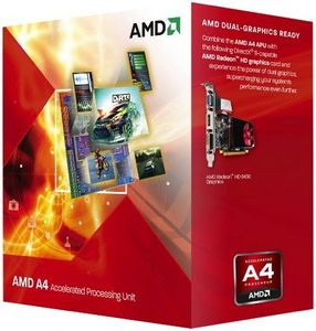 AMD A4 5300 3.4GHZ SKT FM2 L2 1MB 65W P (AD5300OKHJBOX)