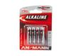 ANSMANN Battery, Micro AAA red-line