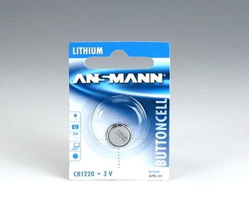 ANSMANN Battery CR1220, 3V, Li-ion (5020062)