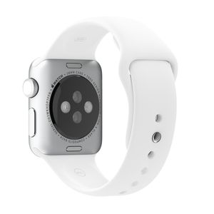 APPLE Watch 38mm White Sport Sm/Ml-Zml (MJ4E2ZM/A)