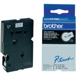 BROTHER Tape Brother 9mm BLACK ON WHITE TAPE (TC-291)