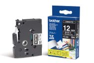 BROTHER Tape/12mm white on black f P-Touch (TX335)