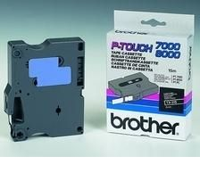 BROTHER Tape/6mm white on black f P-Touch (TX315)