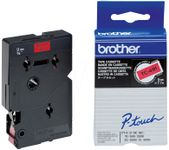 BROTHER Tape/9mm black on red (TC491)