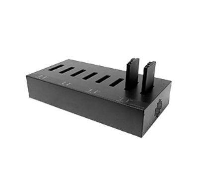 V110 MULTI-BAY BATTERY CHARGER W/Z ADAPTER UK