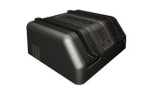 F110-EXT DUAL BAY BATT CHARG UK PSU I