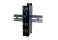 EXSYS EX-1185HMVS 4 Port USB 3.0 Metall HUB, USB 3.0 Metall HUB, inkl. Din-Rail kit