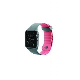 SILIKONEBAND F APPLE WATCH 42MM PINK ACCS