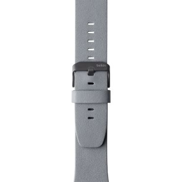 LEATHER BAND F APPLE WATCH 42MM GRAY ACCS