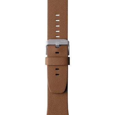 LEATHER BAND F APPLE WATCH 42MM BROWN ACCS