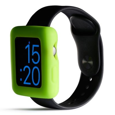 Boomtime Silicon Cover for Apple Watch 42mm green