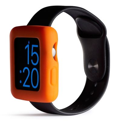 Boomtime Silicon Cover for Apple Watch 42mm orange
