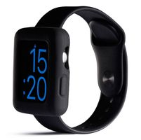 Boomtime Silicon Cover for Apple Watch 42mm black
