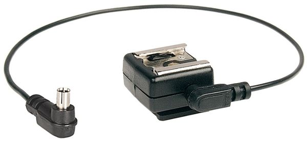Flash Shoe Adapter incl. Synchro cable