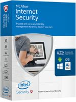 MCAFEE 2017 Internet Security 1 Device (Code in a Box) (MIS17GMB1RAA)