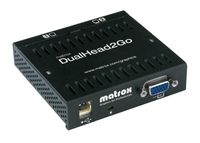 MATROX CB DUAL HEAD 2 GO ROHS COMPLIANT USB POWERED (D2G-A2A-IF)