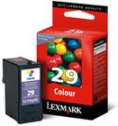 LEXMARK No.29 PB-Ink color 150pages for Z845