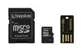 KINGSTON 32GB MICROSDHC CLASS4 MULTI KIT MOBILITY KIT SD ADAP AND USB READER