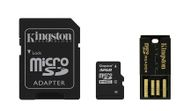 32GB microSDHC Mobility Kit incl USB + SD Adapter