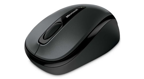 MICROSOFT Wrls Mobile Mouse 3500 for Business Mac/Win USB Port EN/ AR/ CS/ HU/ PL/ RO/ RU/ UK 1 LIC For Business Loch Ness Gray  (5RH-00001)