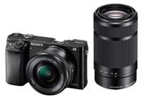 SONY Alpha 6000 Kit black + SEL-P 16-50 + SEL 55-2 (ILCE6000YB.CEC)