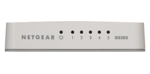 NETGEAR 5-PORT GIGABIT SWITCH IN CPNT (GS205-100PES)