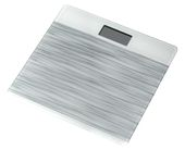 ZIPE Personal scale i tempered glass, gray