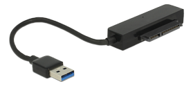 "Converter USB 3.0 Type-A male >sata 6 Gb/s 22 pinwith 2.5"" Protection"