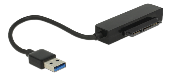 """Converter USB 3.0 Type-A male >sata 6 Gb/s 22 pinwith 2.5"""" Protection"""